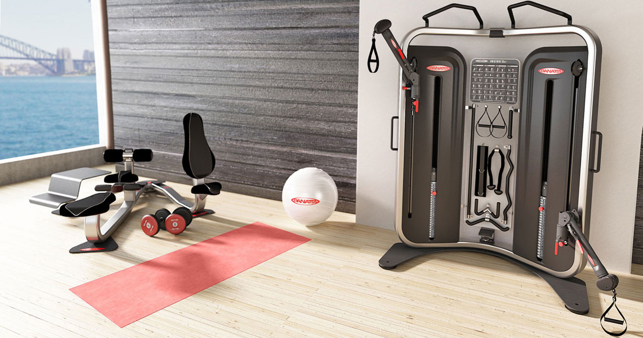 multifunction workout machine Inside