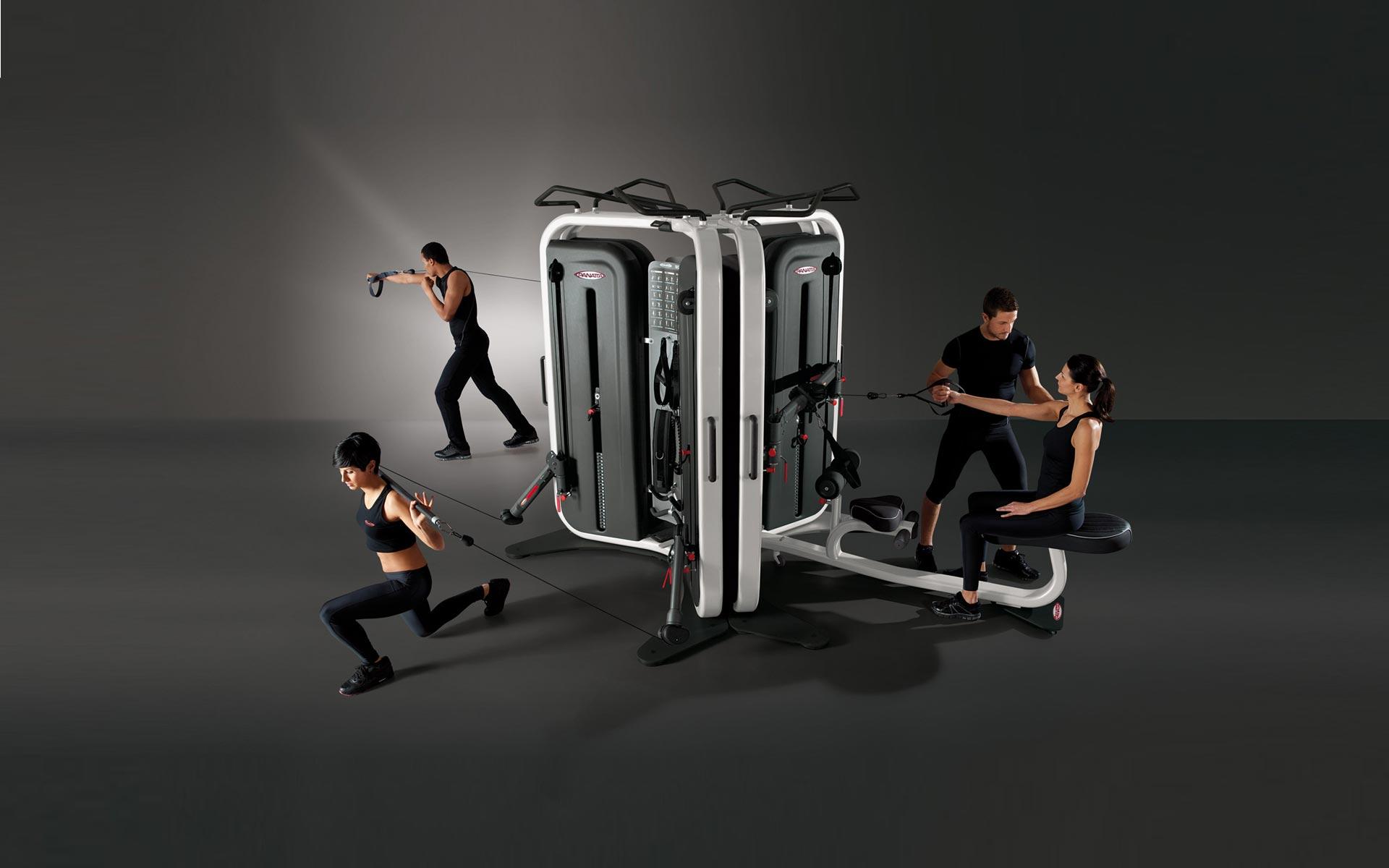 Attrezzi fitness INSIDE palestra multifunzione professionale