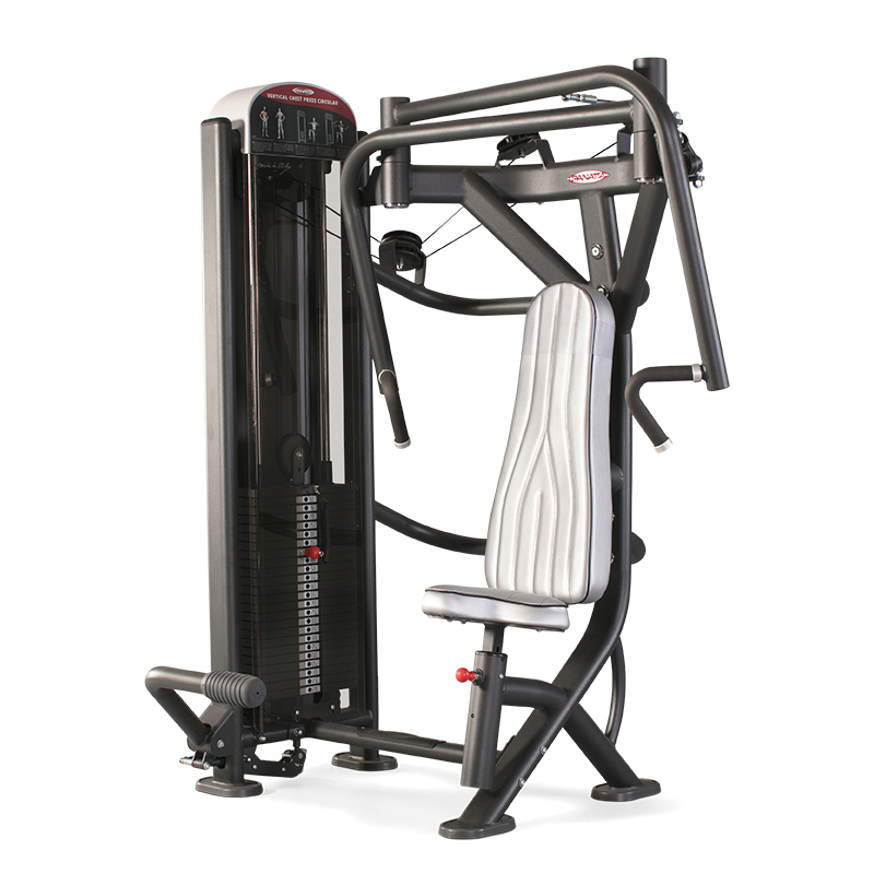 Vertical Lever Press : Vertical chest press circular