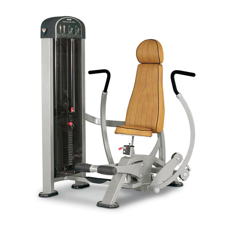 vertical chest press machine